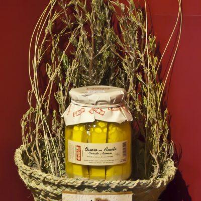 queso aceite en romero