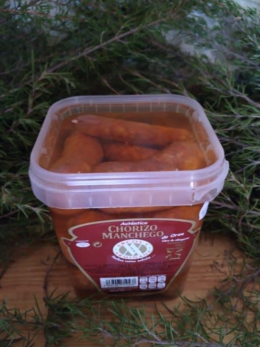 Chorizos Manchegos de Orza