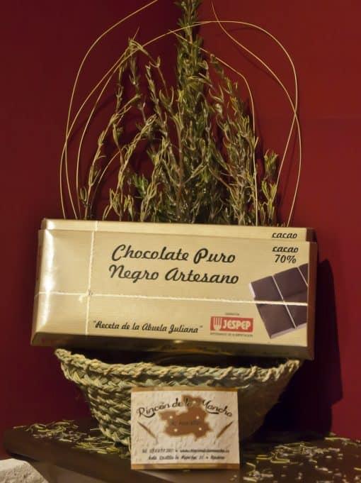 Chocolate Puro Negro Artesano