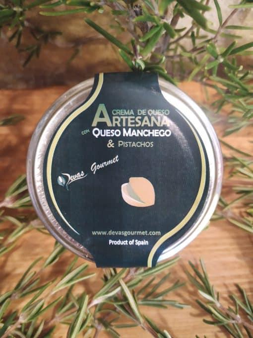 Crema de Queso con Pistacho